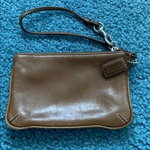 Coach Bags - Coach Leather Wristlet